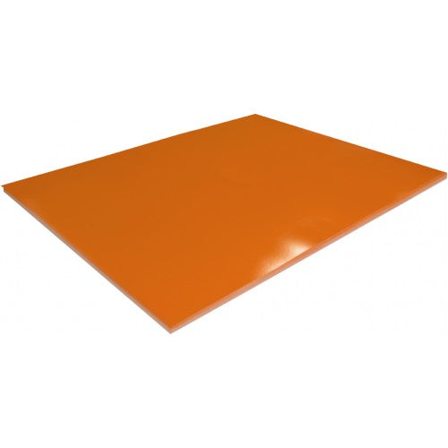Rainbow Surface Board 300gsm 510mm X 640mm 20 Sheets Orange.