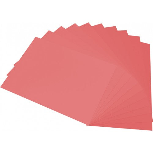 Rainbow Surface Board 290gsm 510mm X 640mm 20 Sheets Pink