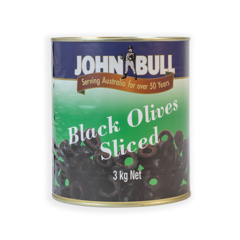 Black Olives Sliced 3kg