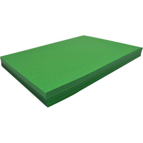 Rainbow Spectrum Board 200GSM 510mm X 640mm 100 Sheets Emerald.