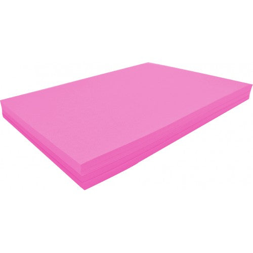 Rainbow Spectrum Board 200GSM 510mm X 640mm 100 Sheets Pink.