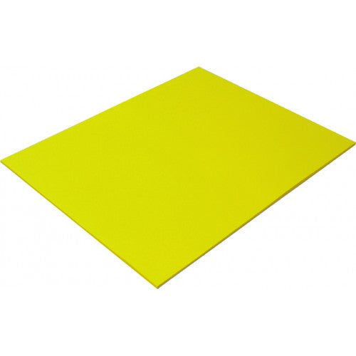 Rainbow Spectrum Board 200GSM 510mm X 640mm 20 Sheets Yellow.