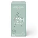 TOM Organic Cotton Applicator Tampons, Regular - 16pcs