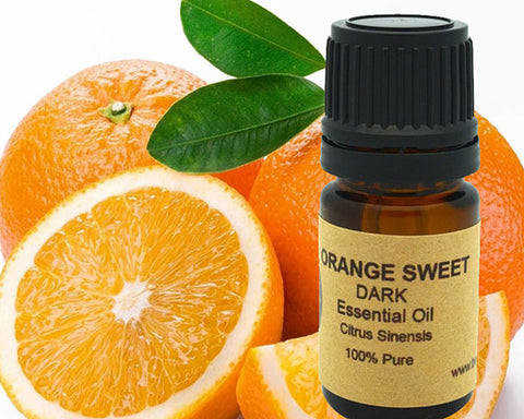 Orange Essential Oil (Sweet Dark) 5 ml, 10 ml or