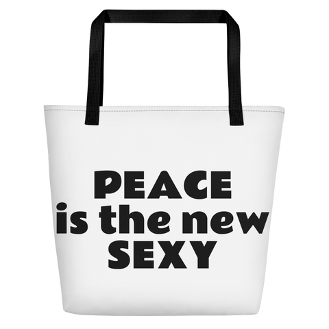 PEACE is the new SEXY Beach Bag
