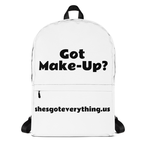 Got Make-UP ? Backpack