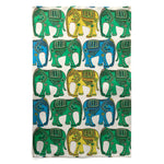 Big Elephant Linen Cotton Tea Towel