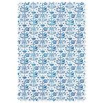 Good Fortune / Medium Blue Damask