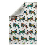 Little Elephant Linen Cotton Tea Towel