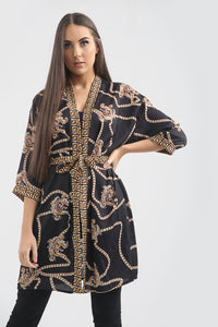 Gold Chain Kimono - sonrisa-clothing-uk