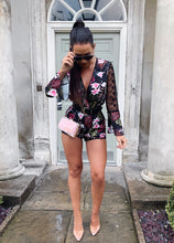 Load image into Gallery viewer, Floral Print Playsuit - sonrisa-clothing-uk