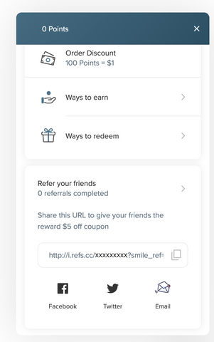 PPP Perks Referral Link location