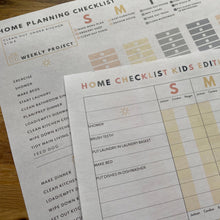 Load image into Gallery viewer, 2020 Home Planner Checklists Pack - Editable PDF Download