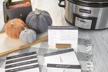 Load image into Gallery viewer, Slow Cooker Meal Plans with Recipe Tin