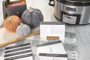 Slow Cooker Meal Plans with Recipe Tin