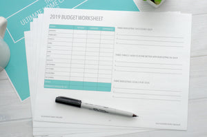 2019 Budget Worksheet Review