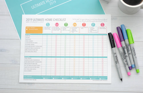 Home Management and Organization Checklists