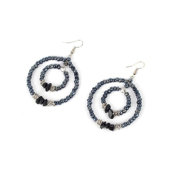 Bohemia Blacks Earrings