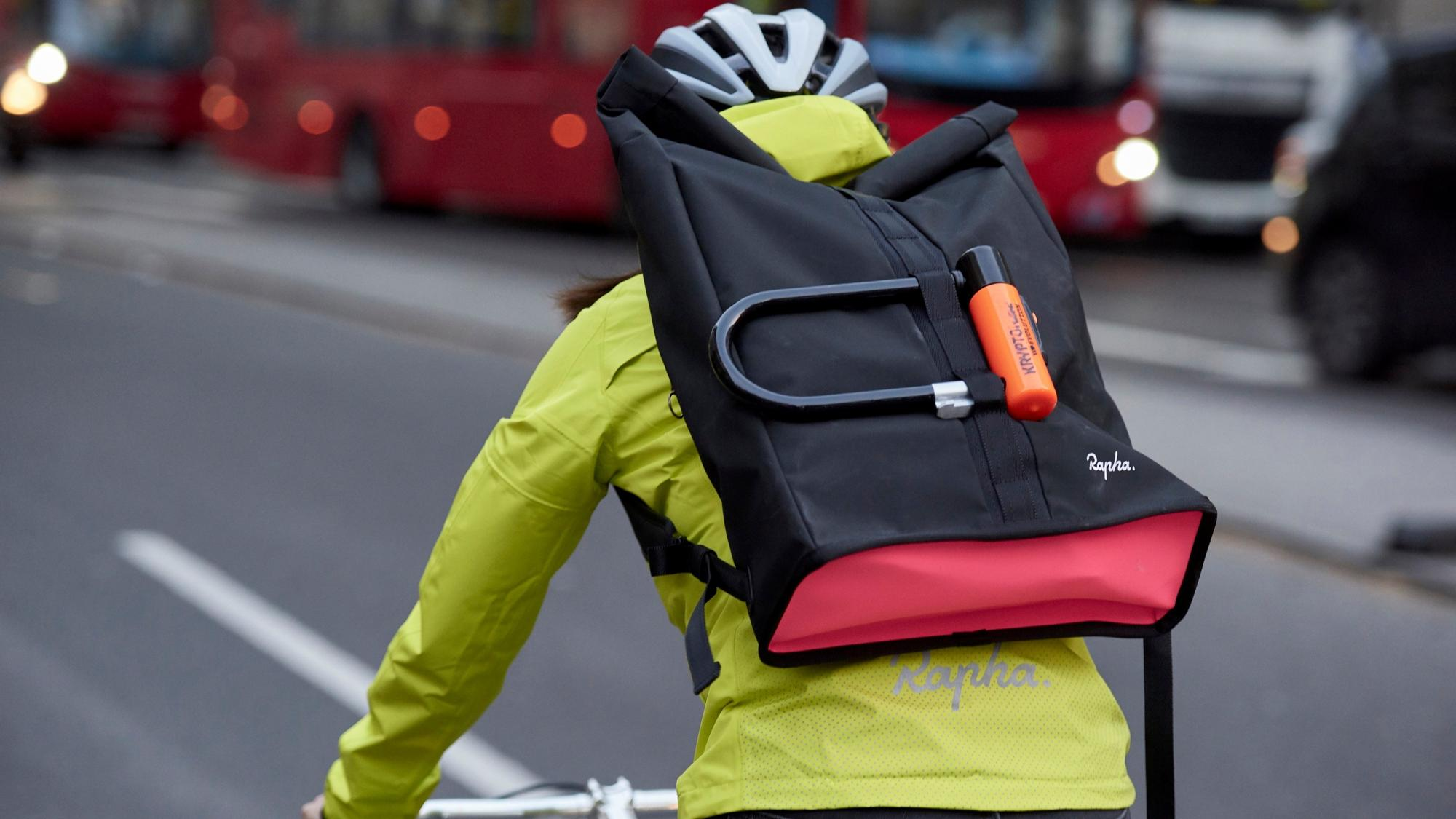 Rapha Roll Top Backpack Promo