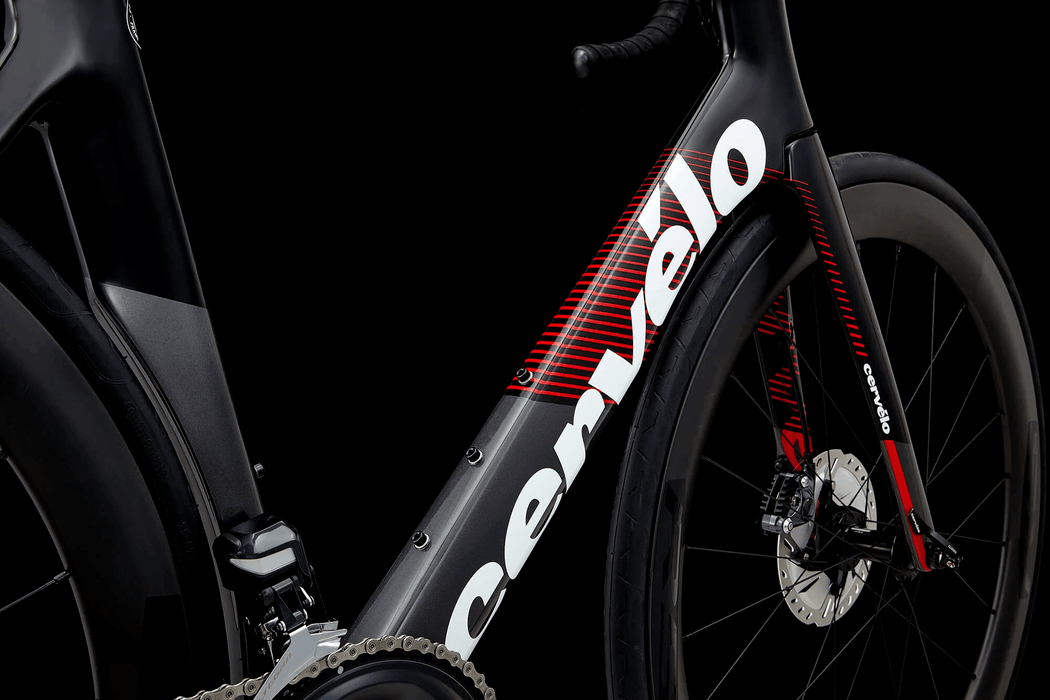 Cervélo - S3 Ultegra Di2 Disc - Graphite / Black / Red - 2019 - 3