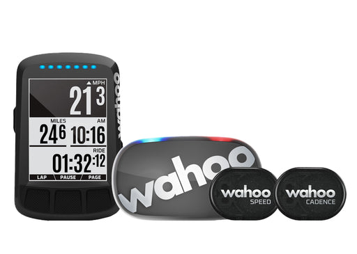 Wahoo - ELEMNT BOLT GPS Bike Computer Bundle - Stealth LTD Edition - 1
