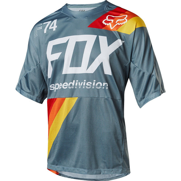 FOX - Demo SS Draftr Jersey - Slate Blue - 1