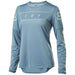 Fox - Womens Flexair Ls Jersey - Light Blue - 1