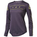 Fox - Womens Flexair Ls Jersey - Dark Purple - 1