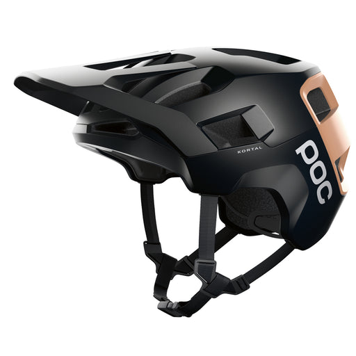 POC - Kortal Helmet - Black / Citrine Orange - 1