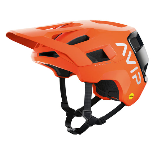 POC - Kortal Race Mips Helmet - Orange Avip / Black - 1