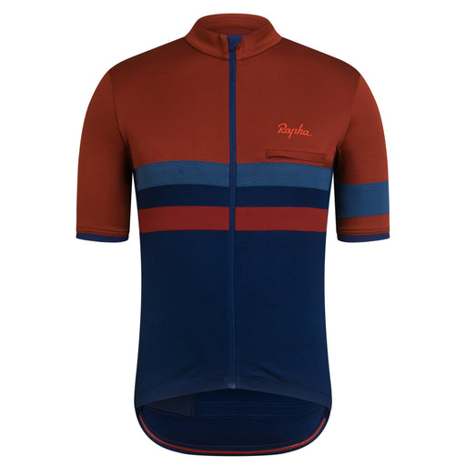 Rapha - Men's Brevet Jersey - Recycled Materials - Brick - 1