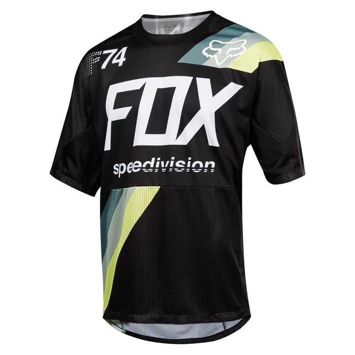 FOX - Demo SS Draftr Jersey - Black - 1
