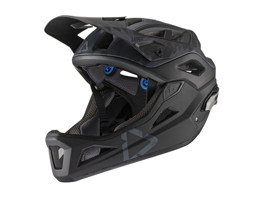 LEATT - 2021 DBX 3.0 Enduro Helmet - Black - 1