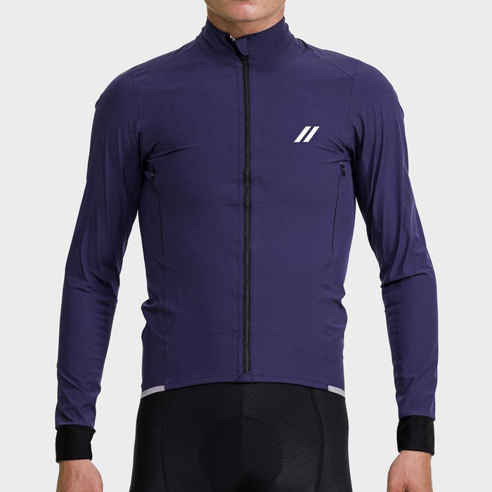 Black Sheep Cycling - Men's Elements Membrane Jacket - Navy