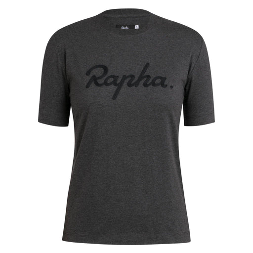 Rapha - Women's Logo T-Shirt - Charcoal - 1