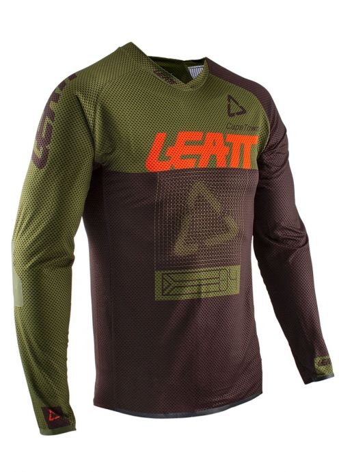 LEATT - 2020 DBX 4.0 Ultraweld Jersey - Forest - 1