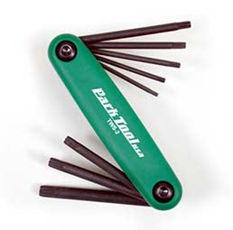 Fold-up Torx Wrench Set