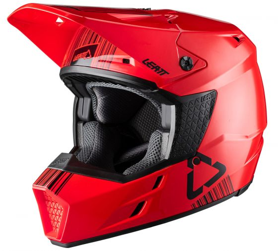 LEATT - 2020 GPX 3.5 V20.1 Helmet - RED DOT+ECE