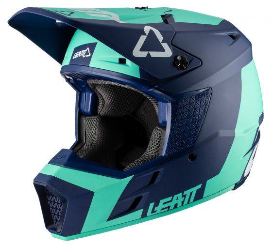 LEATT - 2020 GPX 3.5 V20.2 Helmet - Jr Aqua DOT+ECE