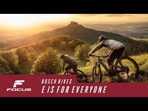 E is for everyone - New FOCUS e-bikes with new Bosch CX Performance 2020 e-drive