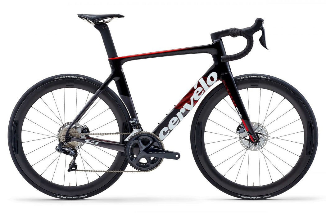 Cervélo - S3 Ultegra Di2 Disc - Graphite / Black / Red - 2019 - 1