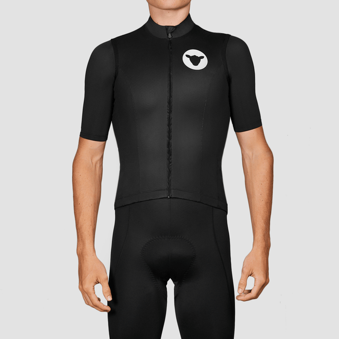 Black Sheep Cycling - Men's Wind Team Collection Vest - Black