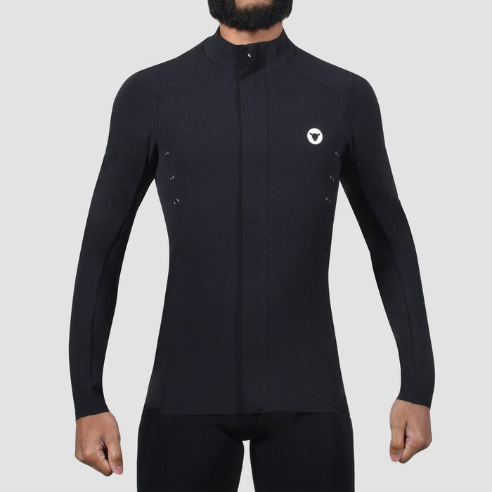 Black Sheep Cycling - Men's Elements Micro Jacket - Black - front