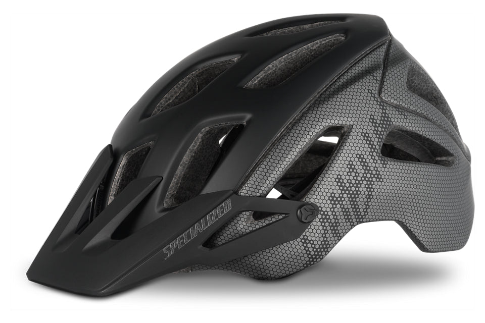 Specialized - Ambush with ANGi - Matte Black/Charcoal Honeycomb