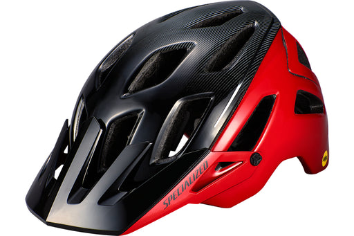 Specialized - Ambush with ANGi - Flo Red/Black Refraction - 1