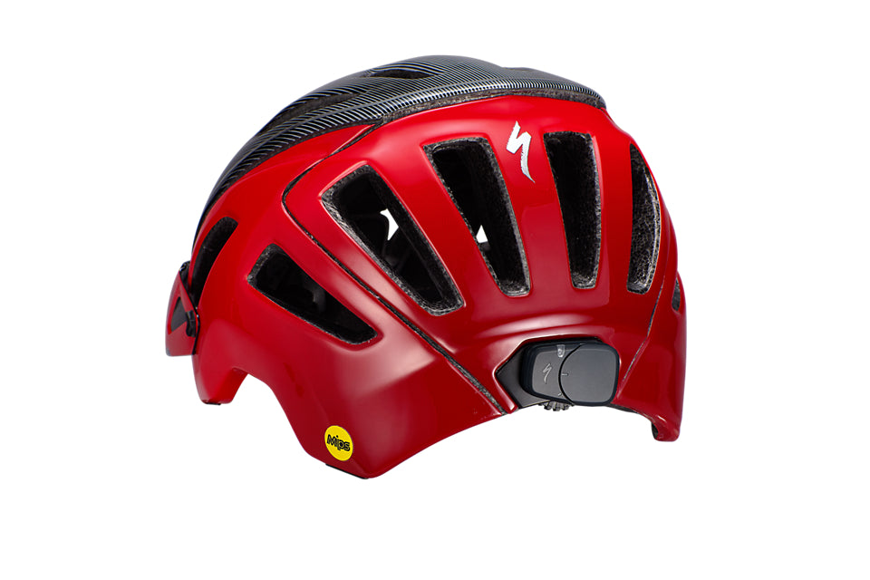 Specialized - Ambush with ANGi - Flo Red/Black Refraction - 7