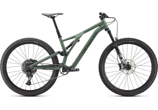 Specialized - Stumpjumper Comp Alloy - GLOSS SAGE GREEN / FOREST GREEN - 2021 - 1