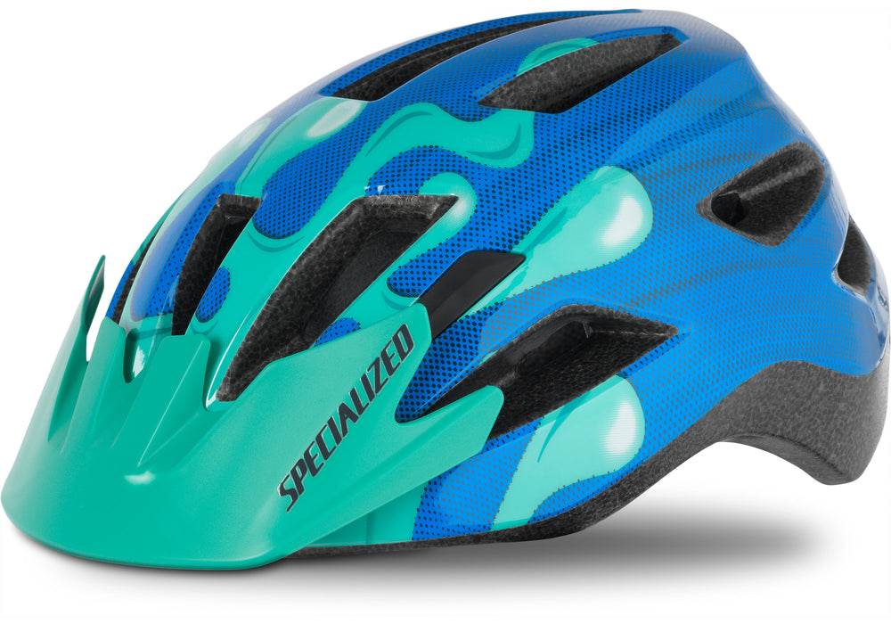 Specialized - Shuffle Youth Standard Buckle - 2020 - Neon Blue/Acid Mint Slime