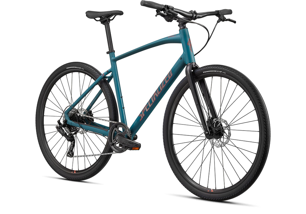 Specialized - Sirrus X 2.0 - 2021 - Dusty Turquoise / Black / Rocket Red - 2