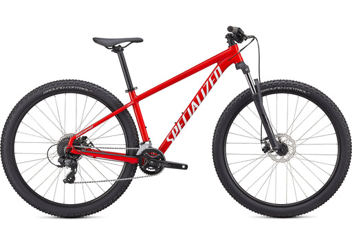 "Specialized - Rockhopper 27.5"" - 2021 - GLOSS FLO RED / WHITE - 1"